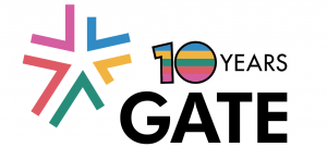 GATE 10th Anniversary Logo