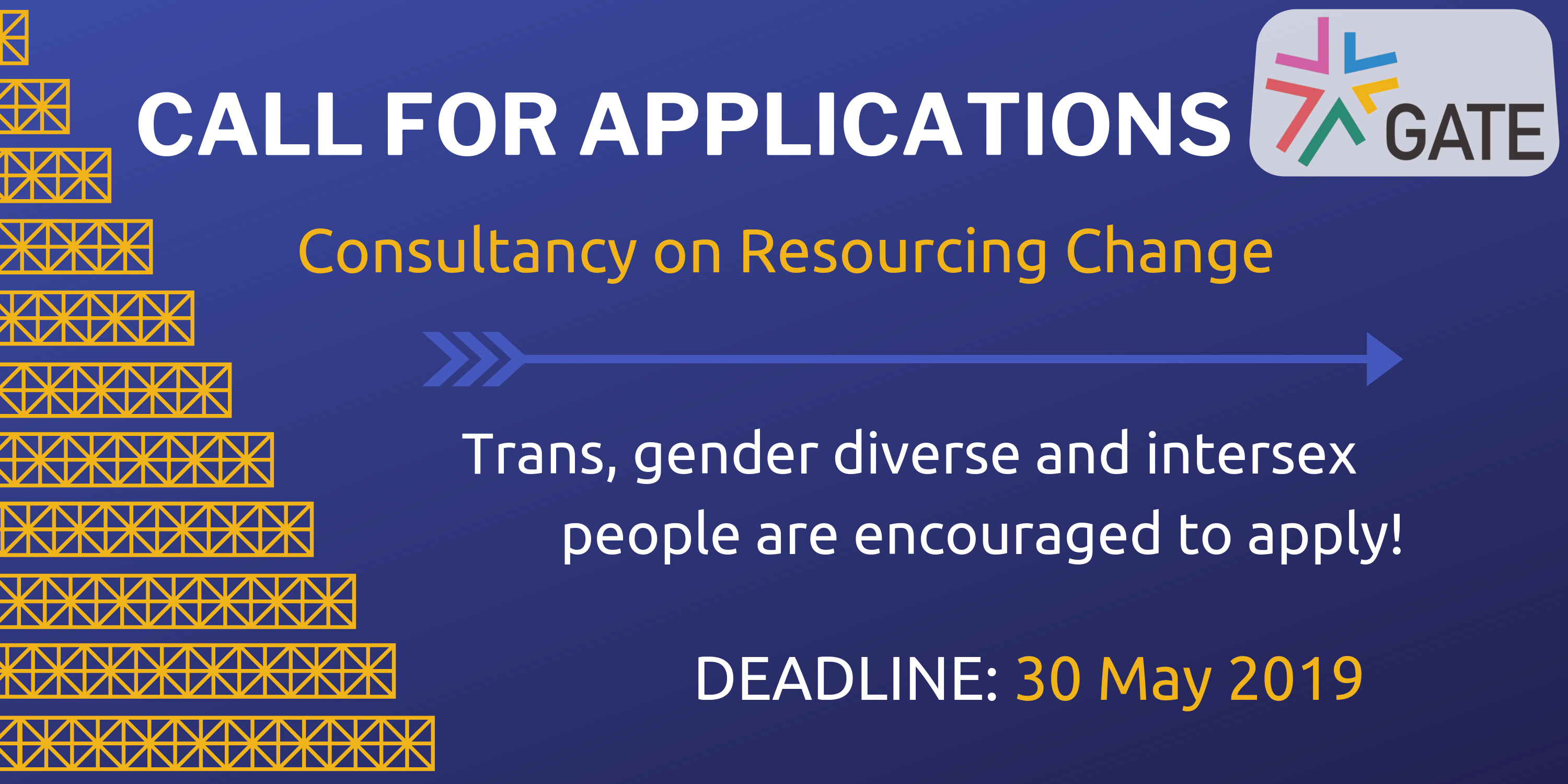 Call for applications: Consultancy on Resourcing Change