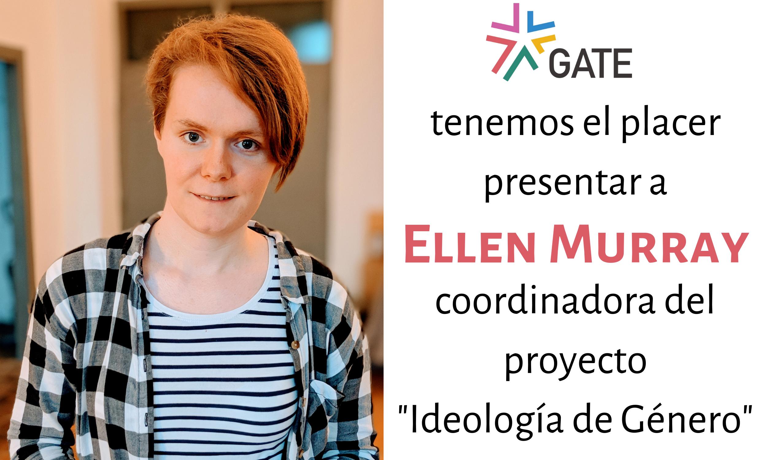 """Anuncio: GATE contrata a una coordinadora para nuestro proyecto """"Ideología de Género"""""""