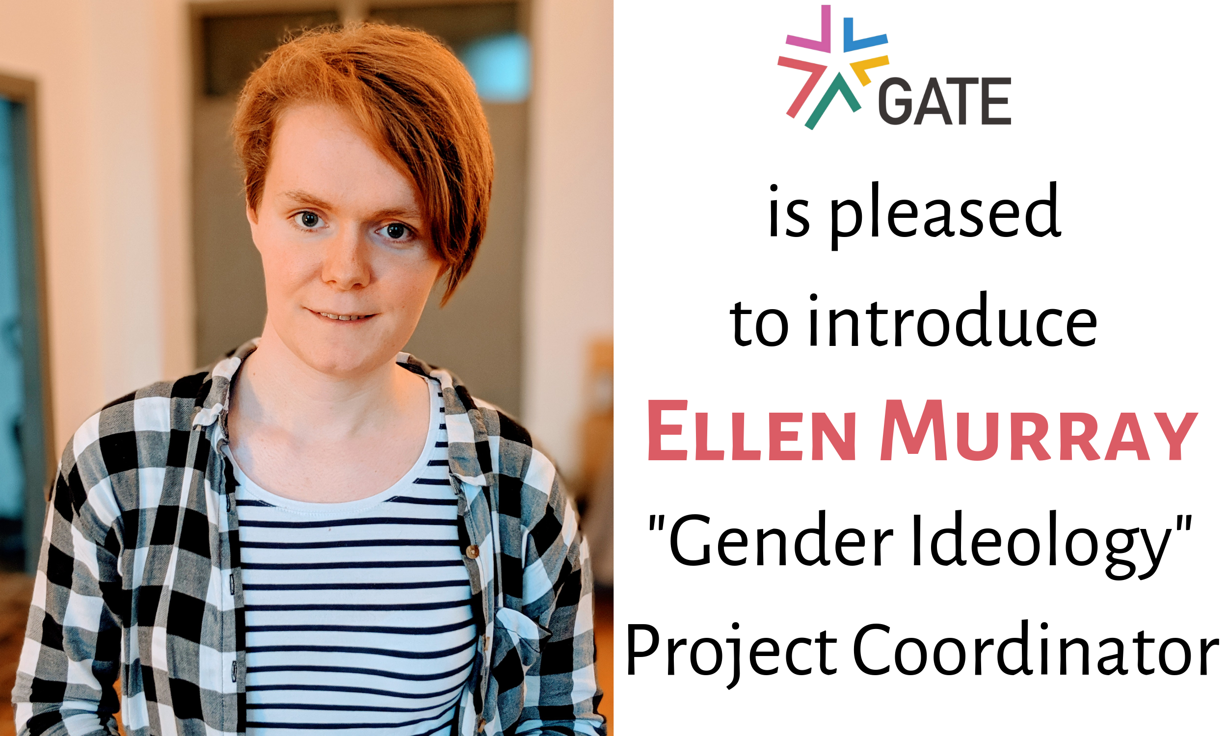 """Announcement: GATE Hires Project Coordinator for """"Gender Ideology"""""""