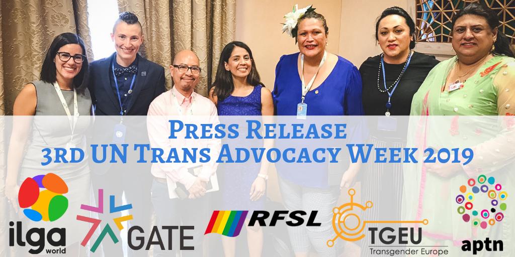 Press Release: 3rd UN Trans Advocacy Week