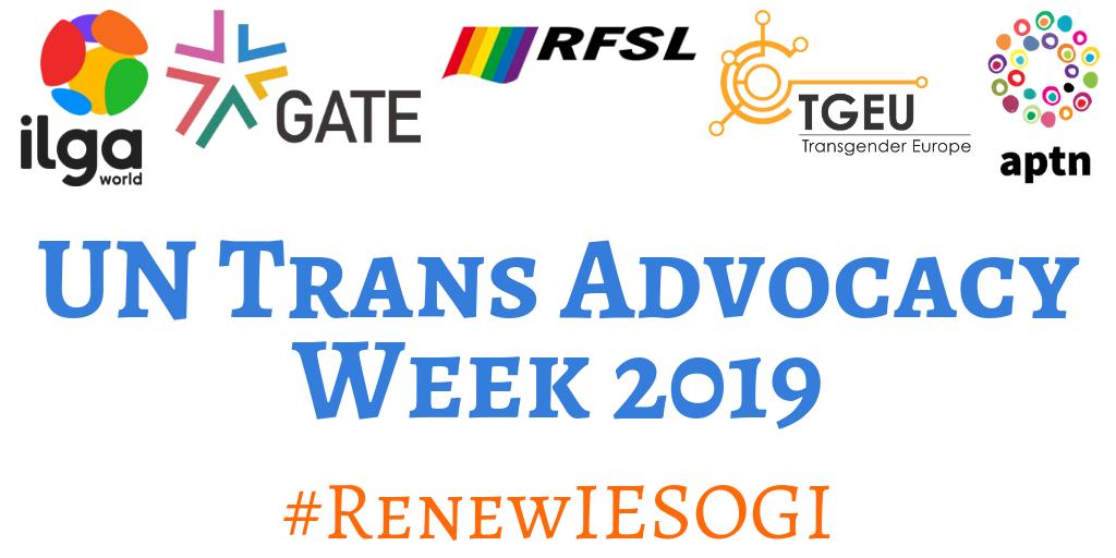 UN Trans Advocacy Weeks 2019