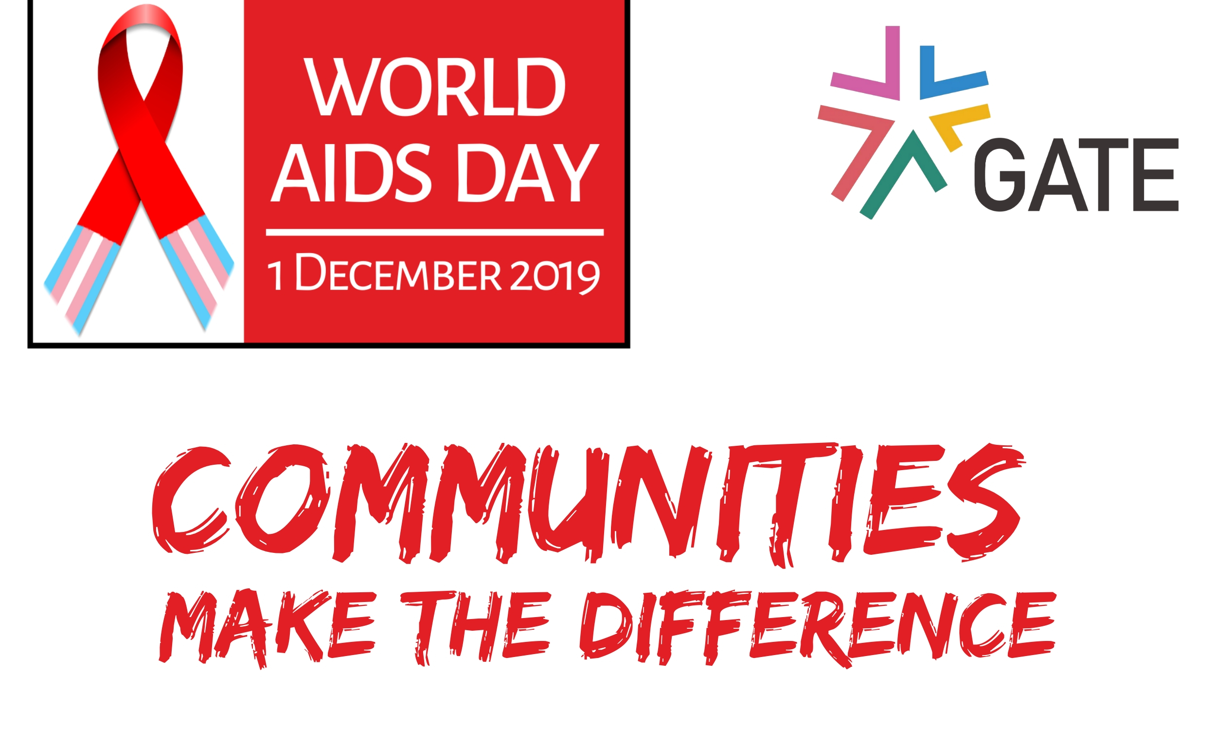 World AIDS Day 2019 – Communities Make The Difference