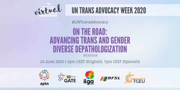 On The Road: advancing trans and gender diverse depathologization