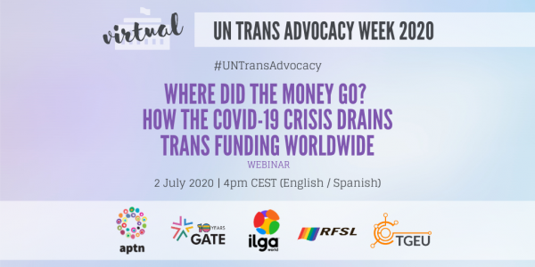 Where did the money go? How the COVID-19 crisis drains trans funding worldwide