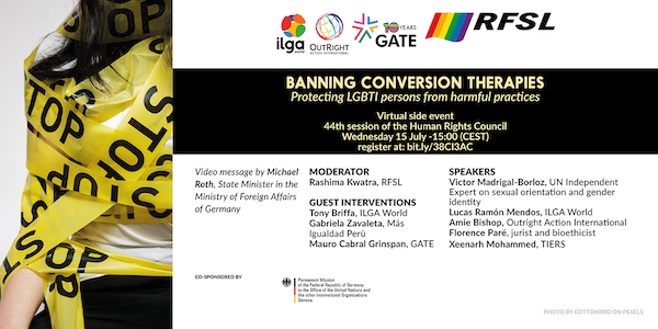 Banning conversion therapies – Protecting LGBTI persons from harmful practices