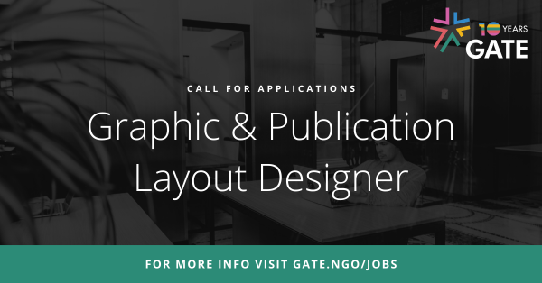 Call for applications: Graphic & Publication Layout Designer