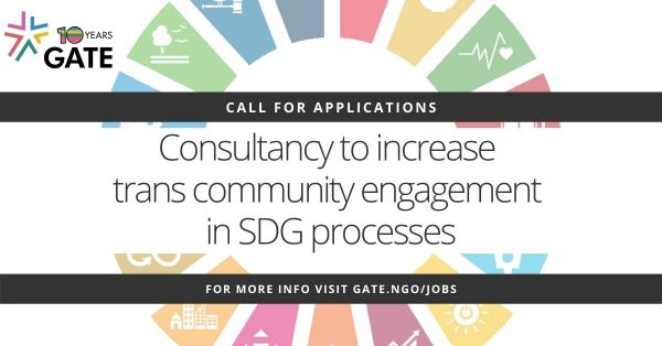 Call for applications: Consultancy on trans community engagement in SDG processes