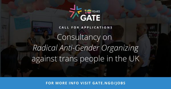 Call for Applications: Consultancy on UK Radical Anti-Gender Organizing