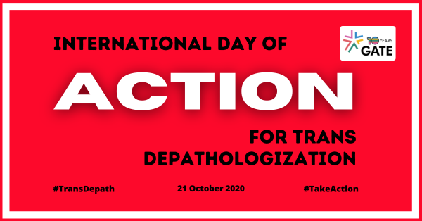 It's Time for Action – Trans Depath Day 2020