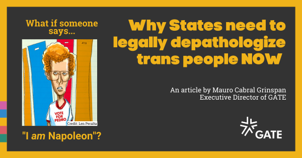 """What if someone says """"I am Napoleon?"""" On trans people and self-determination"""