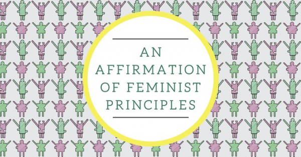 An Affirmation of Feminist Principles: Sign on the statement