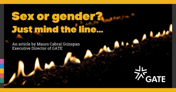 Sex or gender? Just mind the line…