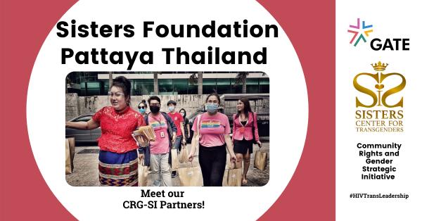 Meet Sisters Foundation Thailand – CRG SI Partner