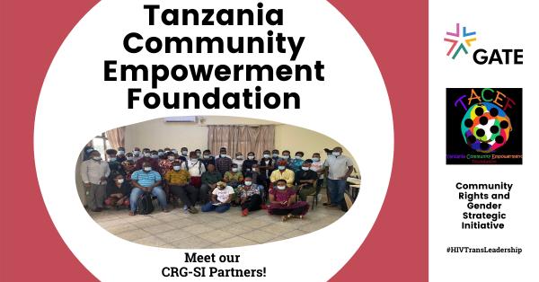 Meet Tanzania Community Empowerment Foundation – CRG SI Partner