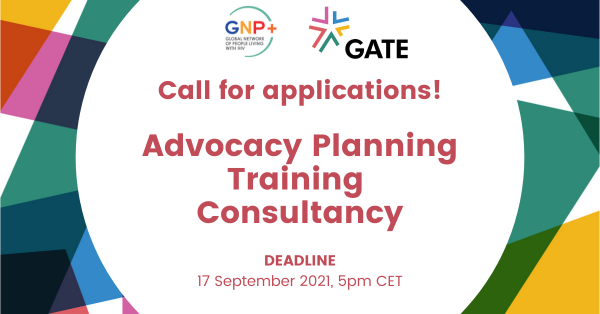 Call for Applications: Advocacy Planning Training Consultancy